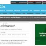 """Artículo: """"10 Aniversario de Facebook: En Lugar de Encender la TV, Nos Conectamos a Facebook"""""""