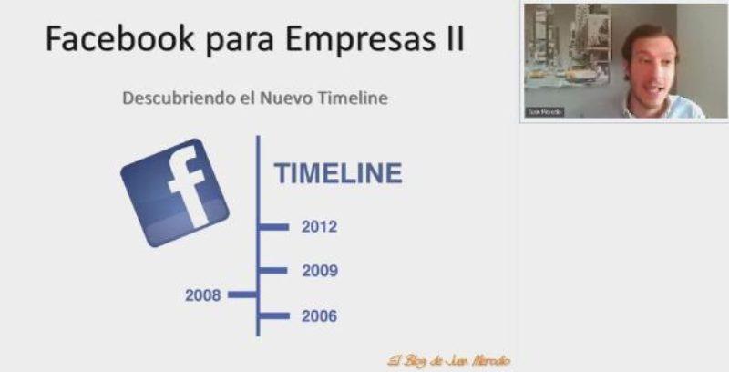 """Curso """"Facebook para Empresas II"""" – Descubriendo el Nuevo Timeline"""