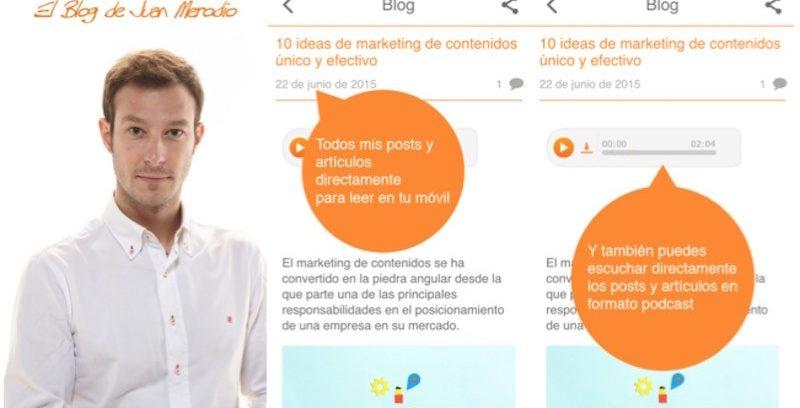 """""""El Blog de Juan Merodio"""": Ya disponible en Apple Store y Google Play"""
