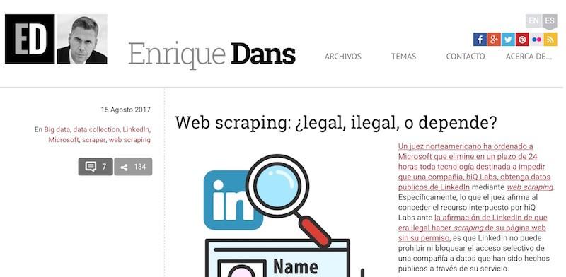 Web Scraping, cómo usarlo en Marketing Digital - Juan Merodio