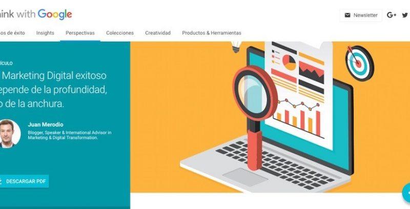 Descubre como el Marketing Digital exitoso se basa en la profundidad