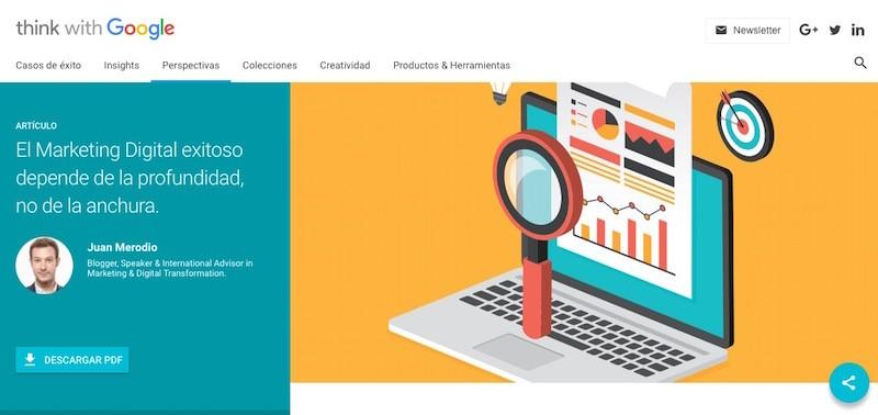 Descubre como el Marketing Digital exitoso se basa en la profundidad - Juan Merodio
