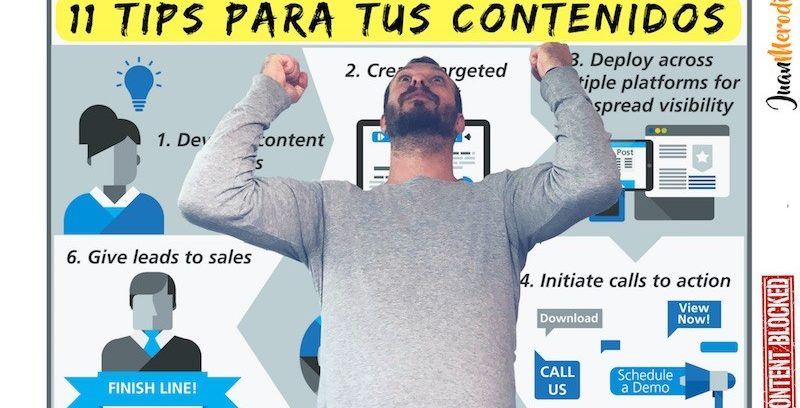 11 Tips de Marketing de Contenidos