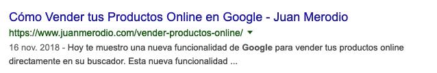 Cómo aprovechar el potencial de los snippets de Google - Juan Merodio