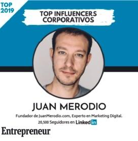 Entrepreneurs Juan Merodio