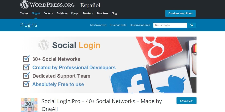 plugin social login