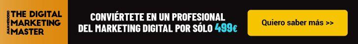 banner master - formación online