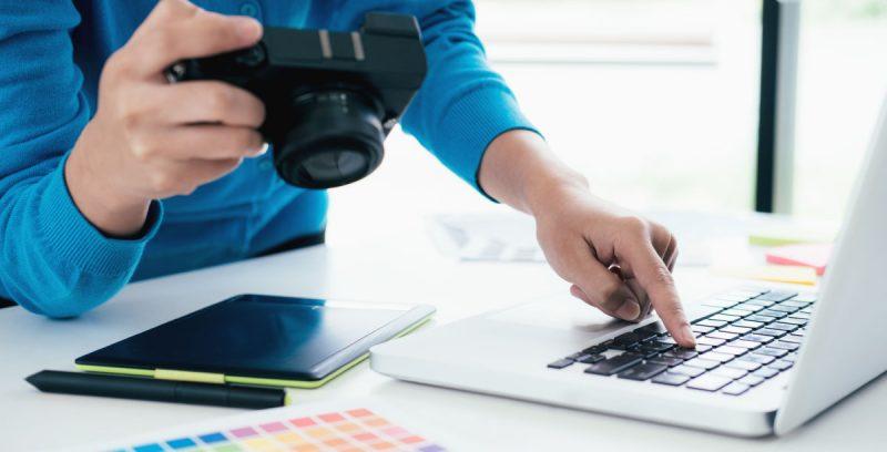 Herramientas de edición de fotos para profesionales y negocios online