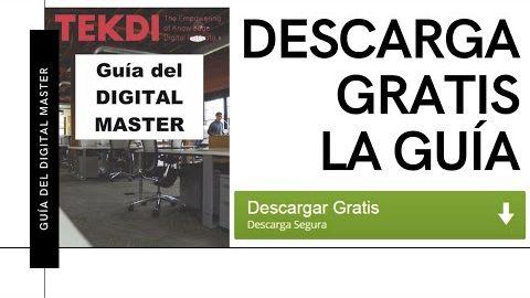 GRATIS La Guía del DIGITAL MASTER (solo disponible 48 horas)