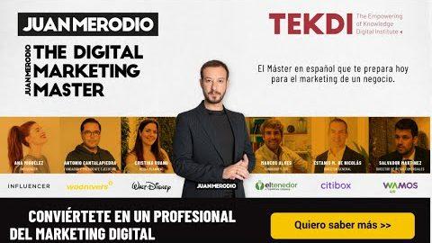 ¿Por qué elegiste The Digital Marketing Master?