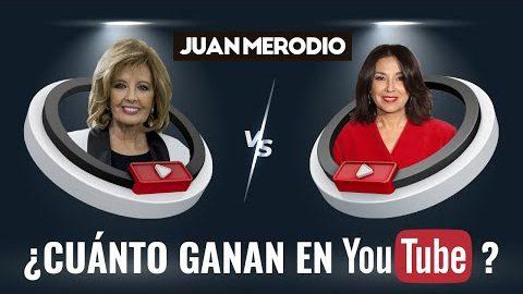 Juan Merodio desvela en 'Sálvame' el dinero que ganan María Teresa Campos e Isabel Gemio en YouTube