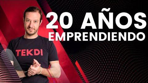 20 años de EMPRENDEDOR