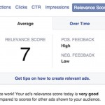 Facebook Relevance Score, un indicador para conocer la calidad de tus campañas de publicidad en Facebook