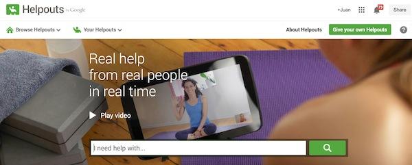 Google Helpouts: herramienta de atención al cliente para empresas - Juan Merodio