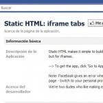 Static HTML: iframe tabs, una aplicación para crear nuevas pestañas en tu página de fans