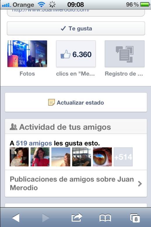 Facebook Actualizará el Diseño de las fanpages en sus Aps móviles - Juan Merodio