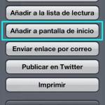Crea un Icono Personalizado de tu Web o Blog para iPhone o iPad