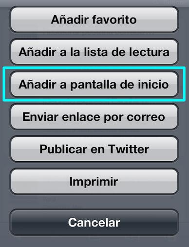 Crea un Icono Personalizado de tu Web o Blog para iPhone o iPad - Juan Merodio