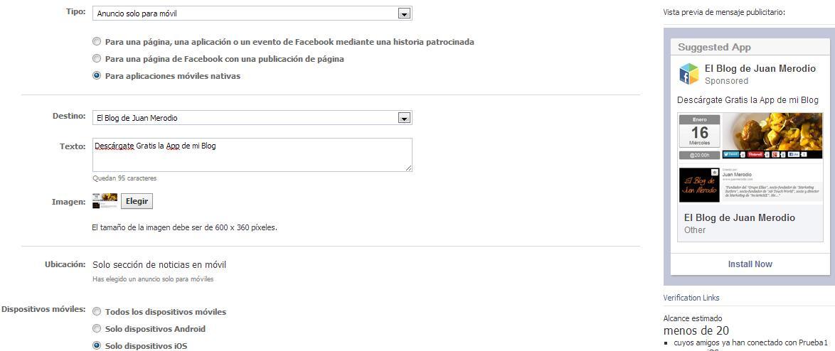 Cómo Promocionar tus Apps Móviles con Facebook Ads - Juan Merodio