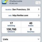 Ya está disponible la aplicación oficial de Twitter para iPhone