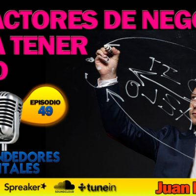 "Entrevista: ""10 Factores de negocio para tener éxito"""