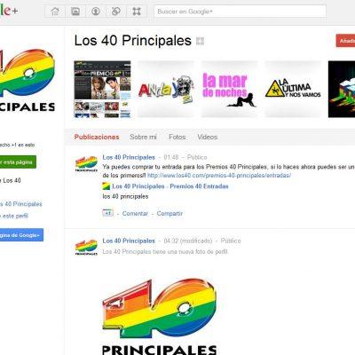 Google+ lanza las Páginas para Empresas