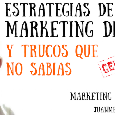 "Las ESTRATEGIAS DE MARKETING DIGITAL y TRUCOS que ""NO SABIAS"""