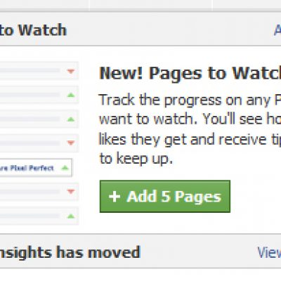 Pages to Watch: herramienta de Facebook para monitorizar competencia