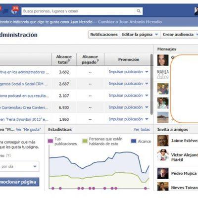 Usa las páginas promocionadas de Facebook para conseguir fans