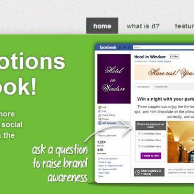 Antavo, una App Gratuita para Crear Promociones en las fanpage