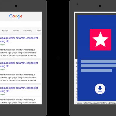 "Google ""penalizará"" webs que oculten banners para instalar Apps"
