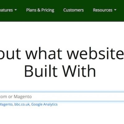 BuiltWith, una herramienta para conocer el perfil tecnológico de una web