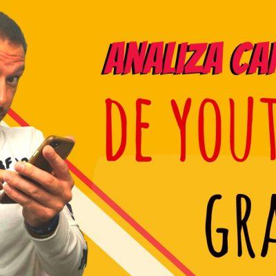 Herramienta para Analizar Gratis Canales en YouTube