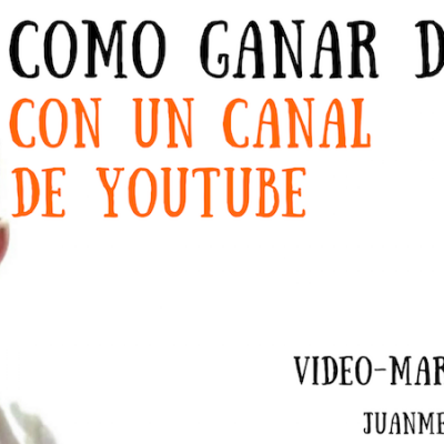 Gana dinero con tu canal de YOUTUBE (programa influencers de Amazon)