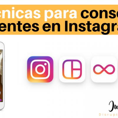2 técnicas para captar clientes en Instagram
