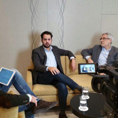 """""""El marketing político de hoy vs el de años atrás"""" con Gaspar Llamazares y Fernando del Páramo"""