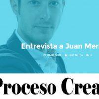 """Entrevista: """"Hablando de creatividad"""" - Juan Merodio"""