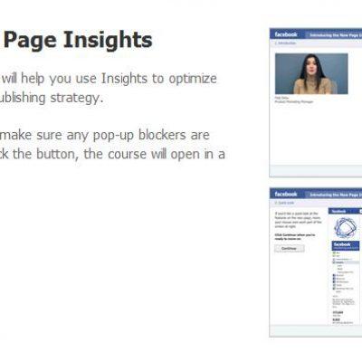 Facebook lanza un curso online gratuito para optimizar las fanpage