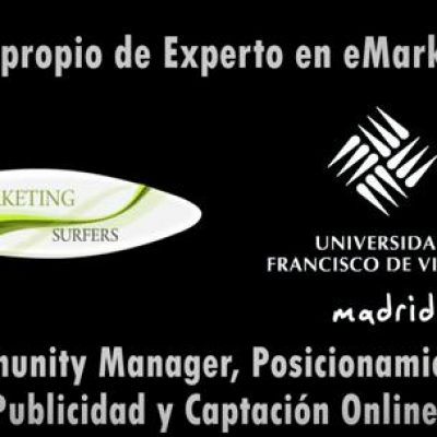 "Nueva Edición Curso de ""Marketing Digital y Posicionamiento 2.0"" avalado por la Universidad Francisco de Vitoria"
