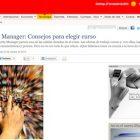 """Artículo: """"Community Manager: Consejos para elegir curso"""" - Juan Merodio"""
