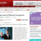 """Artículo: """"Decálogo para el blog de tu negocio"""" - Juan Merodio"""