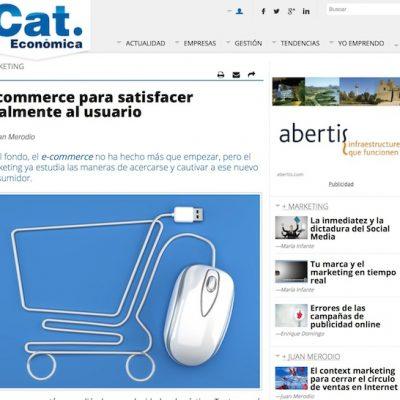 """Artículo: """"Ecommerce para satisfacer realmente al usuario"""""""