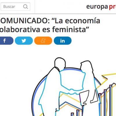 """Entrevista: """"La economía colaborativa es feminista"""""""