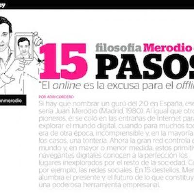 """Entrevista: """"Filosofía Merodio en 15 pasos"""""""