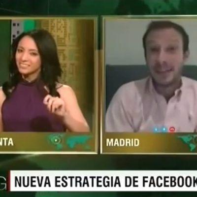 """Entrevista: """"Facebook comparte beneficios del video con los usuarios"""""""