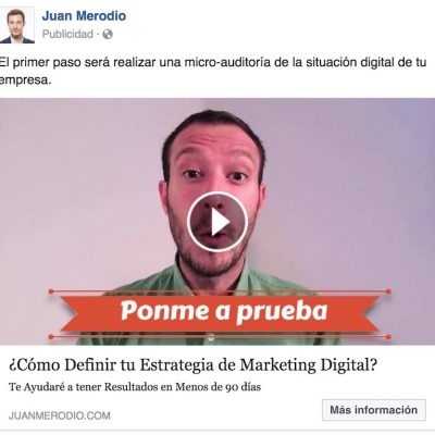 Facebook Slideshow, resultados del  formato de video ads en Facebook