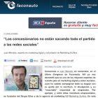 """Entrevista: """"Los Concesionarios de Coches No Están Sacando Partido a las Redes Sociales"""" - Juan Merodio"""