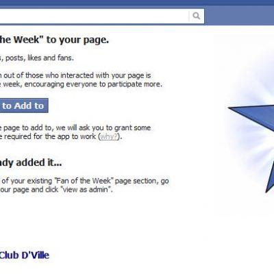 """Aplicación para elegir el """"Fan de la Semana"""" en tu página de Facebook"""