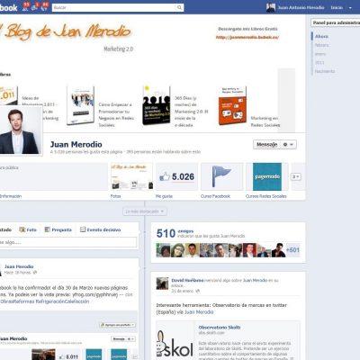 Las Nuevas Páginas de Fans de Facebook Ya están Disponibles con Nuevas Funcionalidades