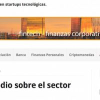 Entrevista: «Fintech, las finanzas y tecnologías se dan la mano» - Juan Merodio